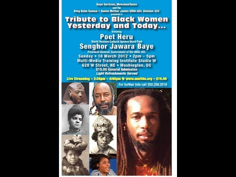 Tribute To Black Women 2012 March 18