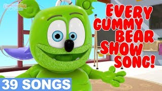 EVERY GUMMY BEAR SHOW SONG - Gummibär And Friends - 39 Minute Playlist