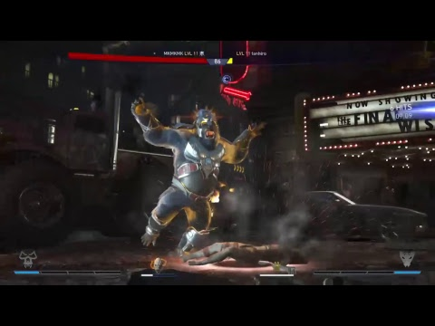 INJUSTICE 2!! Japan online!!