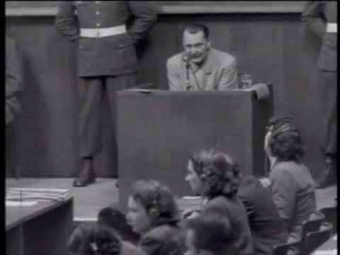 Nuremberg Day 83-84 Goering (translated captions)