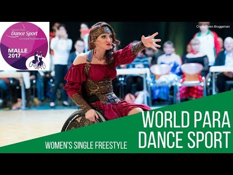 Women's Single Freestyle Class 1 and 2   Malle 2017