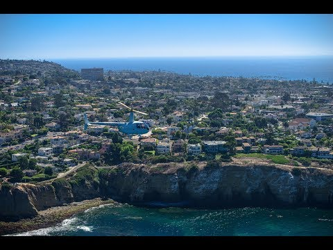 Ultra-Luxury HELICOPTER TOUR of LA JOLLA California