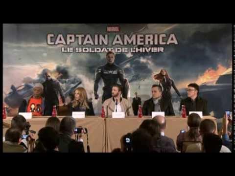 Captain America : The Winter Soldier press conference Mp3