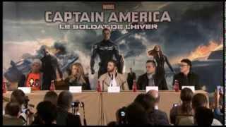 Captain America : The Winter Soldier Press Conference