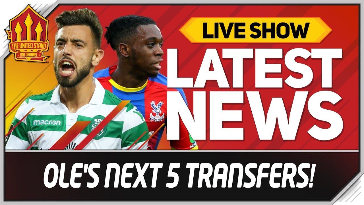 Solskjaer S Next 5 Transfers Revealed Man Utd Transfer News