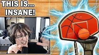 Michael Reeves Reacts To  THE MOVING HOOP /// By Stuff Made Here!