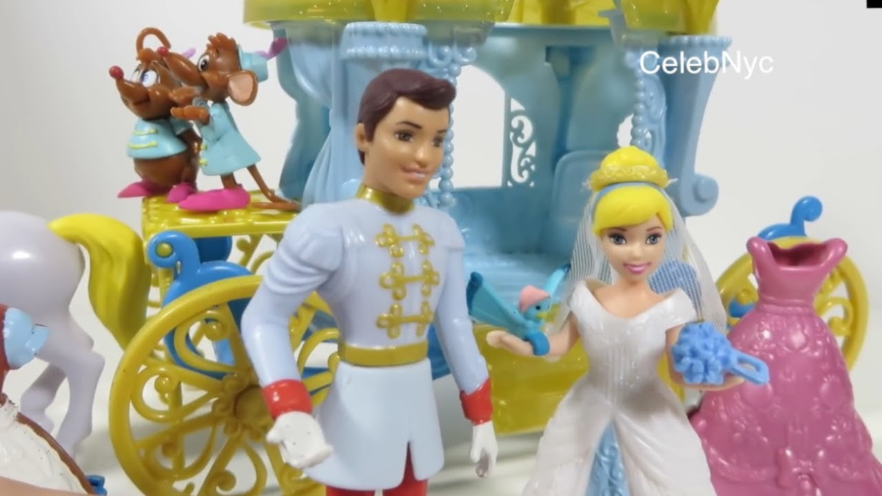 new disney magiclip cinderella total fairytale gift set