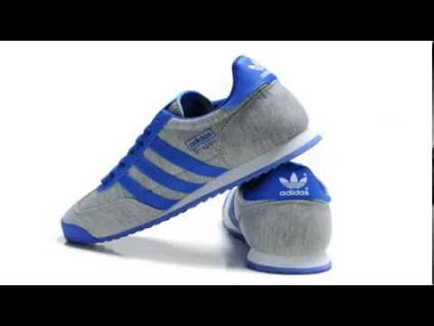 tinción celebrar Miedo a morir  adidas Originals Men's Dragon Retro Sneaker - YouTube