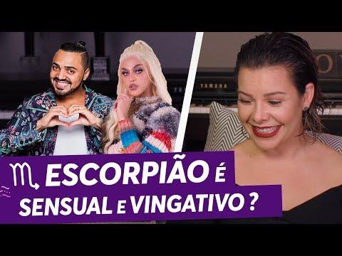 Vingança e Sensualidade! | Escorpião | Pabllo Vittar | Tirullipa | Fernanda Souza | Zodíaco da Fê