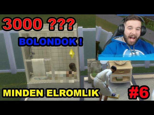 DRÁGÁK A BOLONDOK ! 3000 SIMOLEONos SZÁMLA ! | Sims 4 BOLONDOK HÁZA KIHÍVÁS 6. rész
