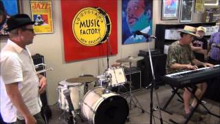 Kevin Clark & Tom McDermott @ Louisiana Music Factory JazzFest 2014