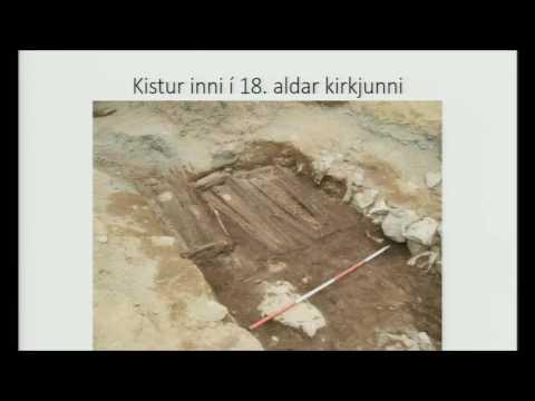 Reykholt. The Church Excavations