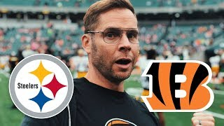 Dad Watches Steelers vs Bengals (Week 6)