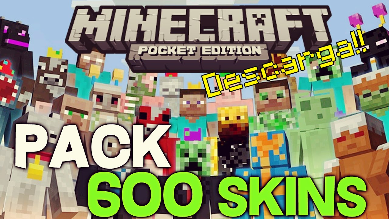 Pack De Skins Para Minecraft Pocket Edition Skins Para - Skin para minecraft pe celular
