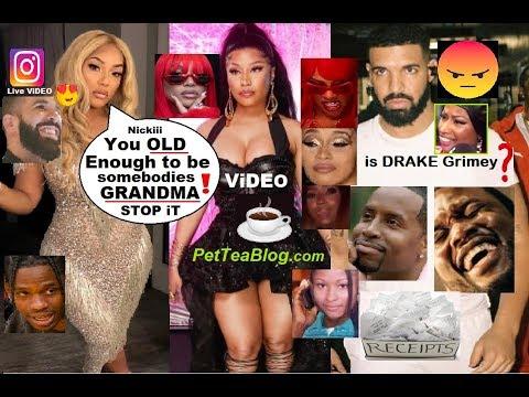 Drake Does Nicki Minaj Dirty, Steff London Calls her GRANDMA! Garbs Drag All 3 😲☕- ViDEO