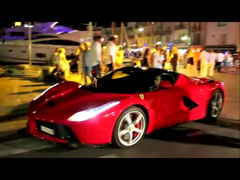 Supercars Night In St Tropez - Summer 2015