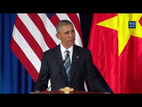 President Obama and President Quang