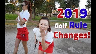 Top 10 New Golf Rules for 2019 | Golf with Aimee