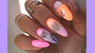 Шикарный Маникюр 2021 на короткие и длинные ногти Топовые Идеи дизайна ногтей 2021 Фото новинки