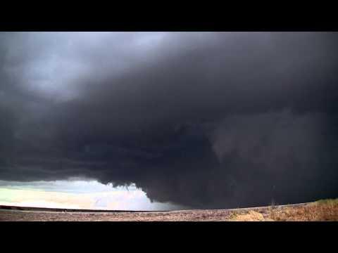 Tornado warned cell near Lebanon Ks. 5-27-13
