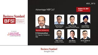 BS BFSI Insight Summit - Session on NBFCsAdvantage NBFCs?