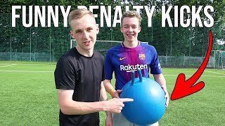 PENALTY WITH THIS BALL? | SPECIAL PENALTY CHALLENGE /w MICH SAKO