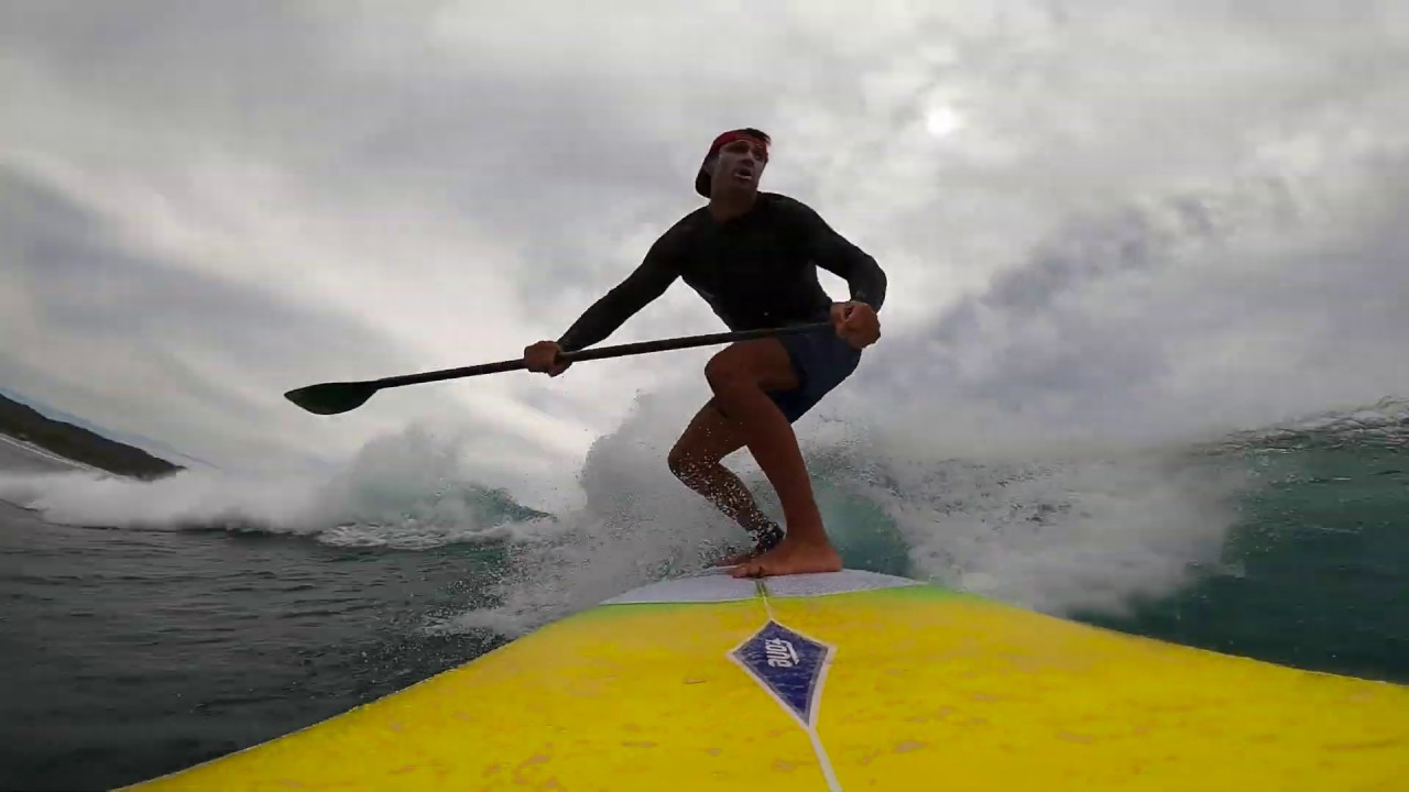 SUP Surfing in Costa Rica with Blue Zone SUP