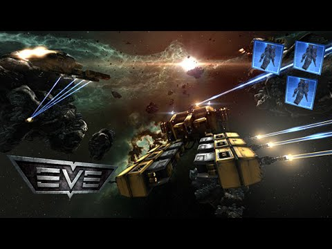 EVE Online | Building Ships and Making Profits