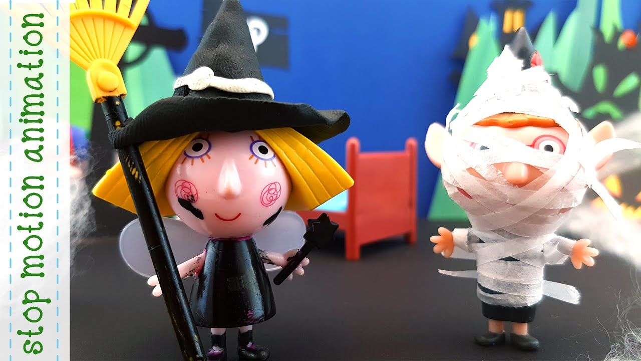 Halloween party Ben and Holly Toys Characters 3d Figures Stop Motion ...