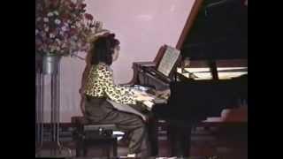 ピアノ・電子オルガン発表会の講師演奏。 Invitations / シ...