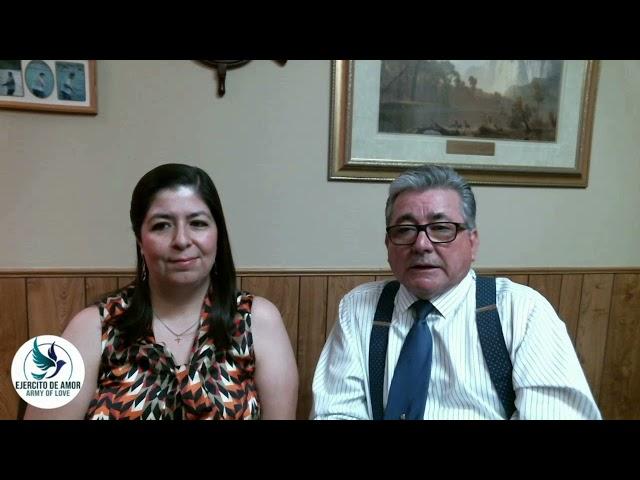 Santa Cena: Pastores Eduardo y Blanca Urrea 072021