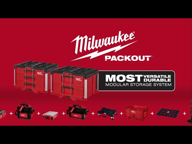 Milwaukee® PACKOUT™ Drawer Tool Boxes