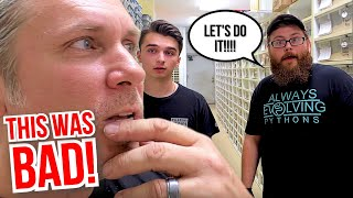 WORST IDEA EVER!! INSANE SNAKE CLUTCH LAID!! | BRIAN BARCZYK