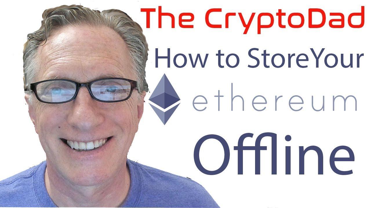 storing cryptocurrency offline