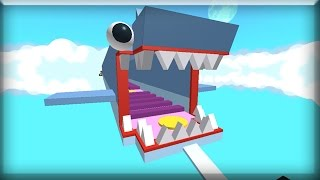 Roblox ESCAPE THE SHARK Parkour Game!