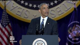 President Obama on 'the new economy'