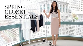Fashion Closet Essentials Part 13 Spring Edition, spring essentials, spring wardrobe, closet essentials