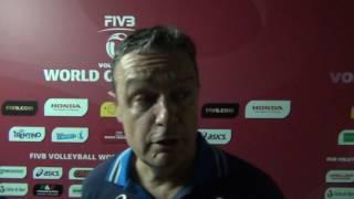 18-06-2016: Bari WGP - Bonitta dopo Olanda-Italia 3-1