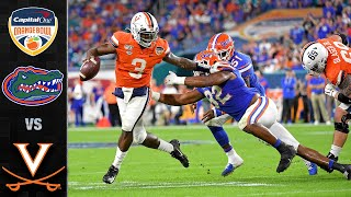 Florida vs. virginia: virginia's season came to an end with a 36-28 loss the gators in 2019 capital one orange bowl. dominated th...