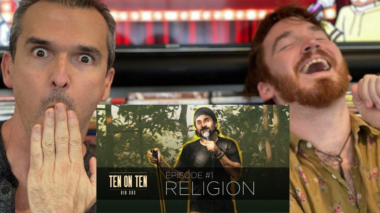 Religion vs Comedy   #TenOnTen   Vir Das REACTION!!