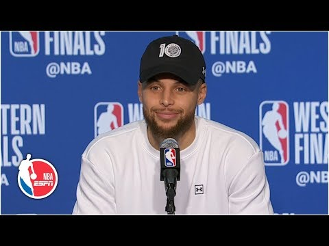 Steph Curry on battling brother Seth Curry: This was the coolest experience ever | 2019 NBA Playoffs