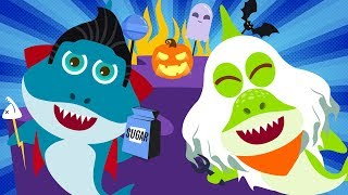 Baby Shark Compilation Halloween Johnny Johnny Baby Shark Song Nursery Rhymes Songs for Kids
