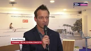 FPU 22/06/2021 - Interview d'Arnaud Avezou, Président de Mobilconcepts, distributeur de Metalco