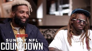Odell Beckham Jr. and Lil Wayne open up on their careers, achievements and relationship | NFL thumbnail