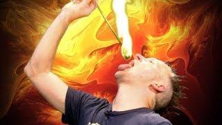 CRAZIEST Fire Eating: Advanced Vapor Tricks!