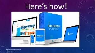 How to Use Builderall To Grow Your myEcon Business - The Perfect Sales Funnel