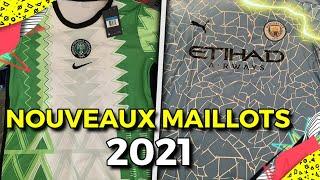 LES NOUVEAUX MAILLOTS 2021 ! SD.