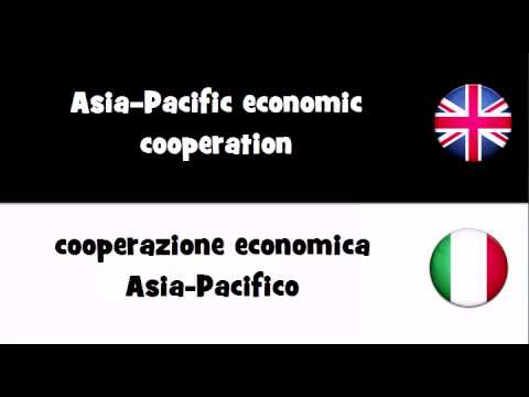 TRANSLATE IN 20 LANGUAGES = Asia–Pacific economic cooperation
