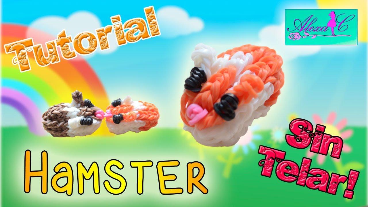 f4aacf6145ee ♥ Tutorial: Hamster de gomitas (sin telar) ♥