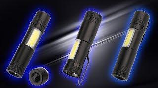 Led фонарики на аккумуляторах типа 14500 или АА батарейках